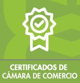 Certificados de Cámara de comercio