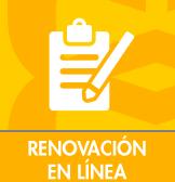 Renovación en línea